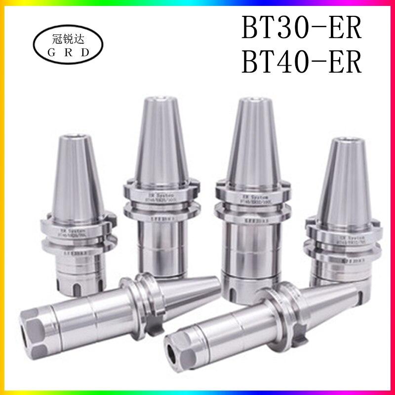 Precision 0.003 BT ER BT30 BT40 Knife Shank ER16 ER20 ER25 ER32 70 100L Knife Shank For CNC Machining Center Spindle Tool Holder
