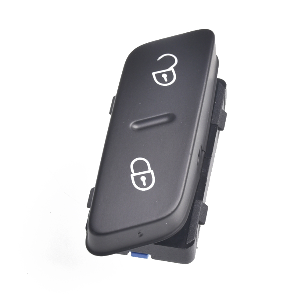 Botão de bloqueio da porta interruptor segurança bloqueio central do carro para vw jetta golf 5 mk5 passat cc tiguan 1k0962125b