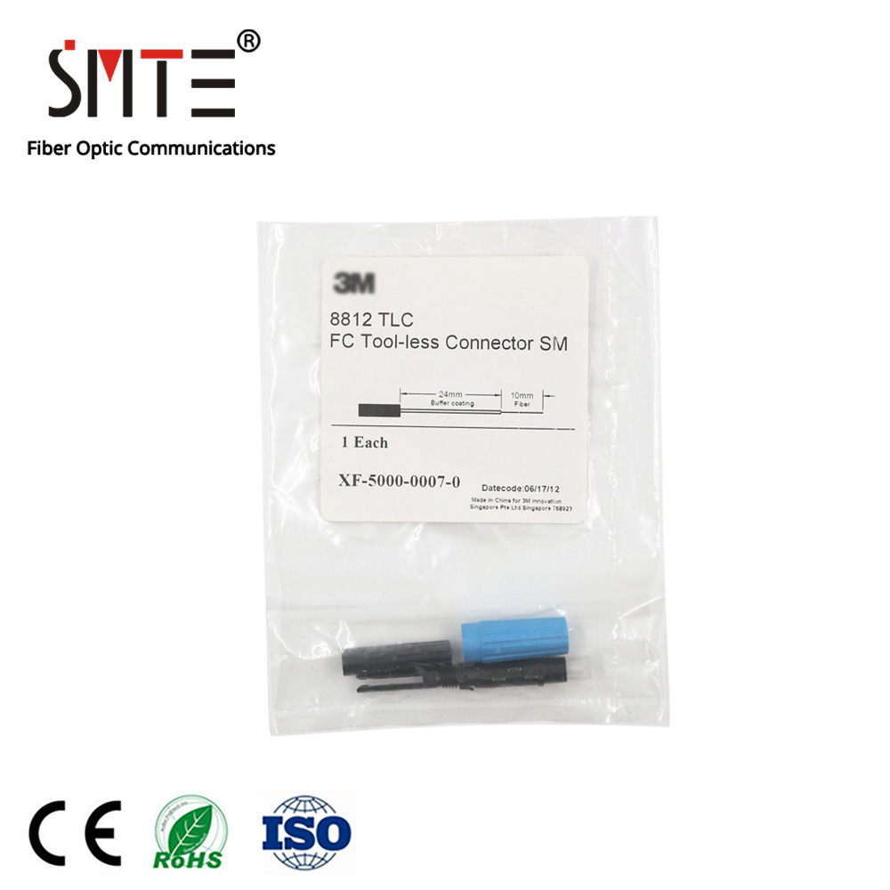 8812 TLC Field XF-5000-0007-0 Connector FC Plug Cold Connector Round Head Fiber Connector