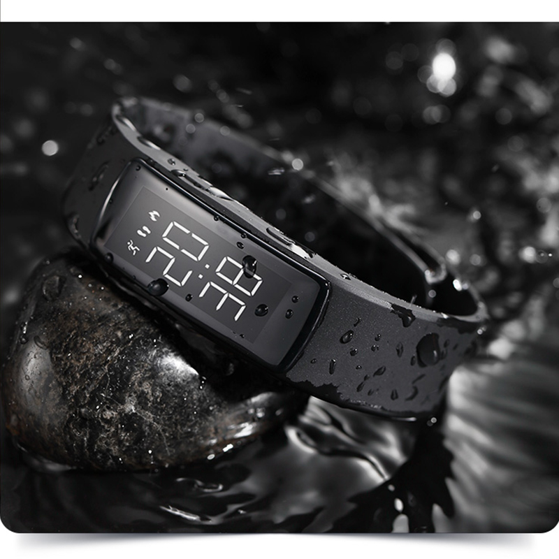 Fashion Camouflage Luminous Clock Digital Watch Waterproof Women Electric LED Sports Watches Smart Charging Bracelet Wristwatch