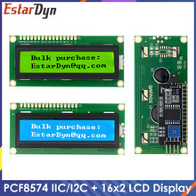 Module LCD, écran bleu vert IIC/I2C 1602 pour Arduino 1602 LCD UNO r3 Mega2560 LCD1602