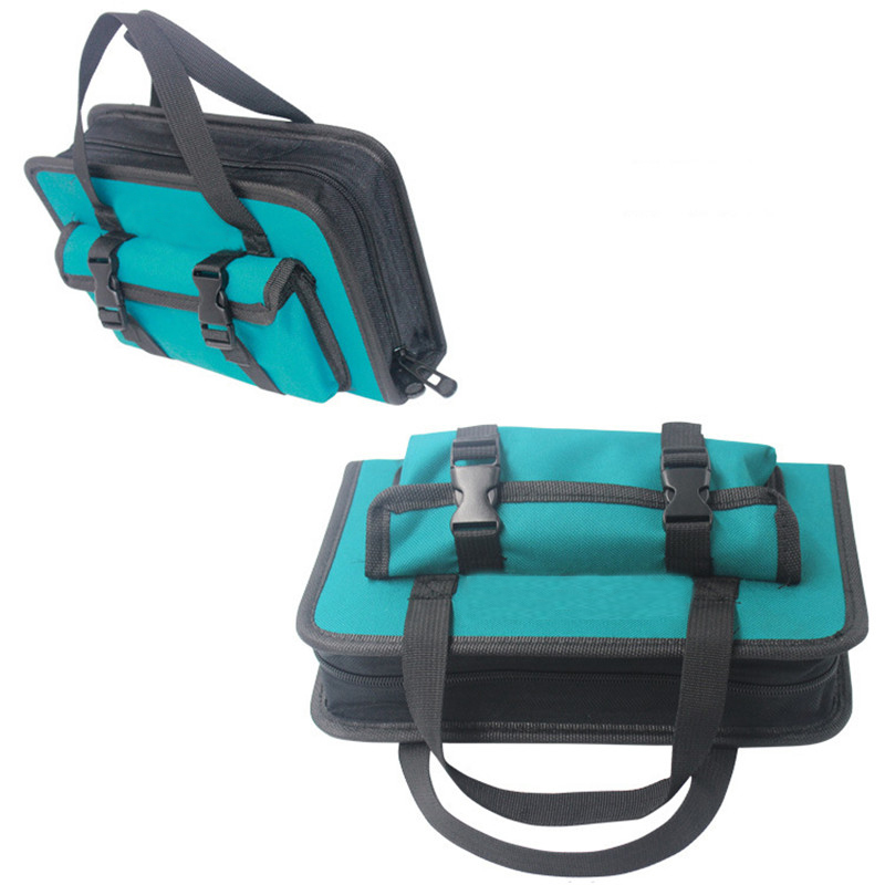 Tool Bag 260*155*55mm Waterproof Electrician Tool Bag Oxford Canvas Handbag Organizer Tools|Tool Bags| |  -