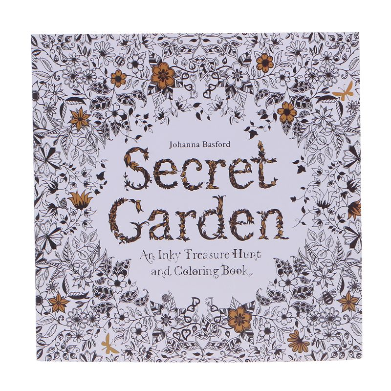 New An Inky Treasure Hunt And Coloring Book By Johanna Basford H7EC