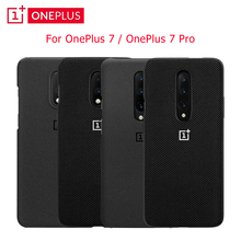 For Oneplus 7T Case Original 100% for Oneplus Official Protective Cover Nylon bumper Sandstone Case for one plus 7 pro