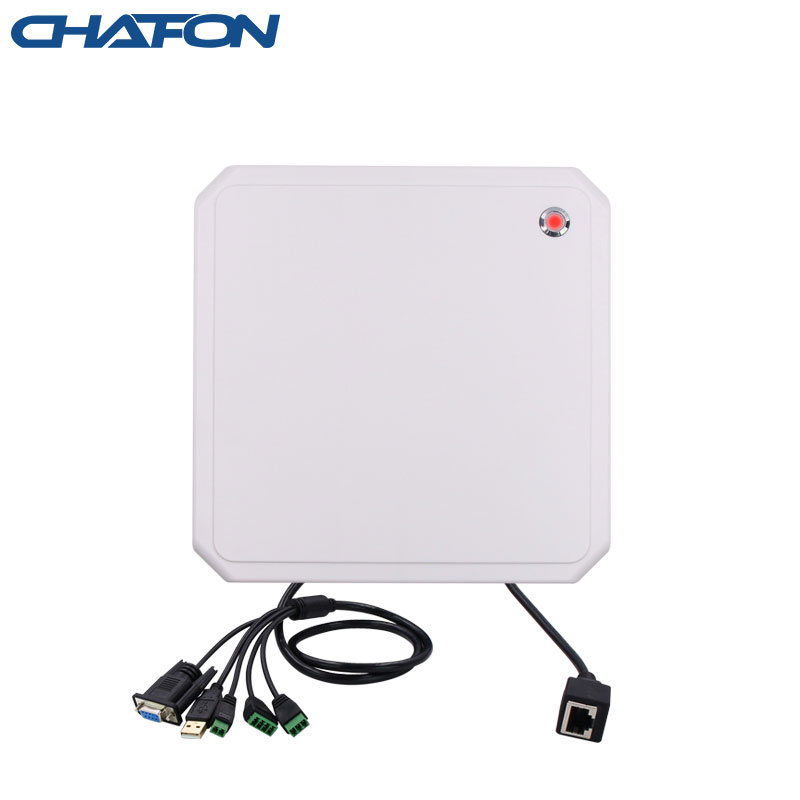 CHAFON 10M tcp/ip uhf rfid reader long range USB RS232 WG26 RELAY free SDK for parking and warehouse management title=
