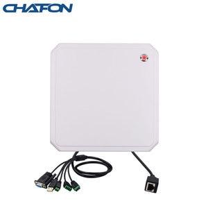 Image 3 - CHAFON lecteur rfid uhf, 10M, antenne circulaire 9dbi intégrée, prise en charge de la mise à niveau du micrologiciel pour stationnement de voiture, longue portée RS232 WG26, USB