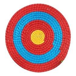 55cm simple couche herbe tir à l'arc cible pratique cible support conseil accessoires Sports de plein air chasse accessoires