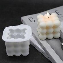 Форма в виде кубика Рубика с 9 шариками 3d форма для свечей