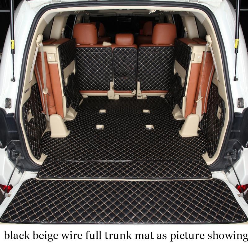 Lsrtw2017 Car Trunk Mat Cargo Liner For Toyota Land Cruiser 2009 2010 2011 2012 2013 2014 2015 2016 2017 2018 2019 Lc200 200