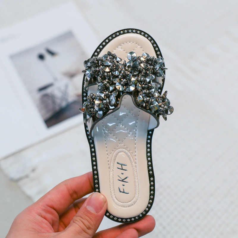 ❤️Rolayllove❤️ Kids Boys Girls Polka Dot Flat Slippers Back Strap Casual Shoes Flat Sandals Sneaker