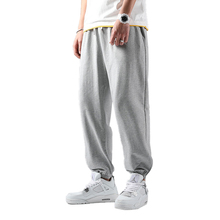 Summer Men's Basketball Sports Pants Men Loose Cotton Sports Beam Leg 4XL plus Size Jogger Man's Trousers Clearance Sale