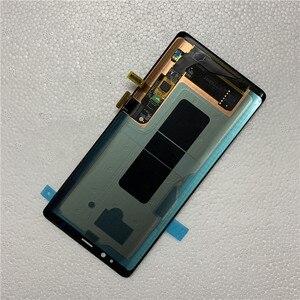 Image 4 - מקורי AMOLED עם שחור נקודות תצוגה עבור SAMSUNG Galaxy NOTE8 LCD N950U N950I N950F תצוגת מגע מסך הרכבה