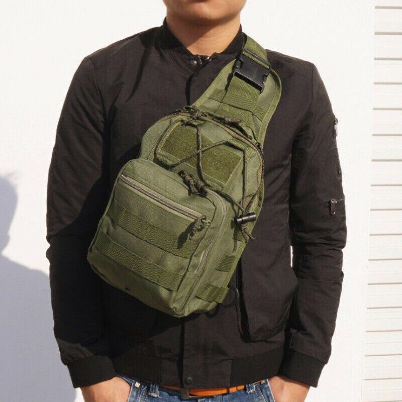 Homens estilingue pacote de peito bolsa de