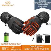 Smart Electric Heating Gloves,3M Waterproof 6xAA Battery Self Heated 5