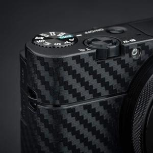 Image 4 - 안티 스크래치 카메라 바디 스킨 프로텍터 탄소 섬유 스티커 보호 필름 키트 소니 RX100 마크 VII VI VA V IV III 7 6 5 4