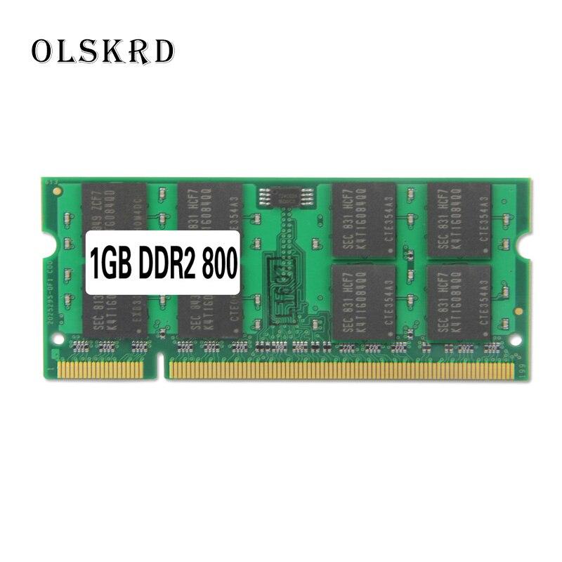 Olskrd ноутбук память 2 ГБ 4 ГБ DDR2 DDR3 PC3 pc2 6400 800 МГц sodimm so-dimm sdram память Ram 1,8 v Memoria для ноутбука