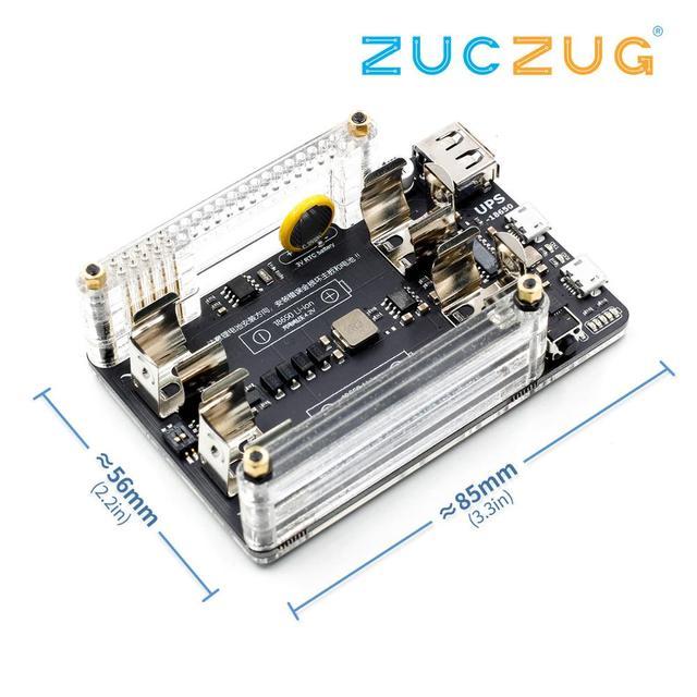 Neue UPS 18650 Power Extension Board Mit RTC, Messung, 5V Ausgang Serial Port Für Raspberry pi