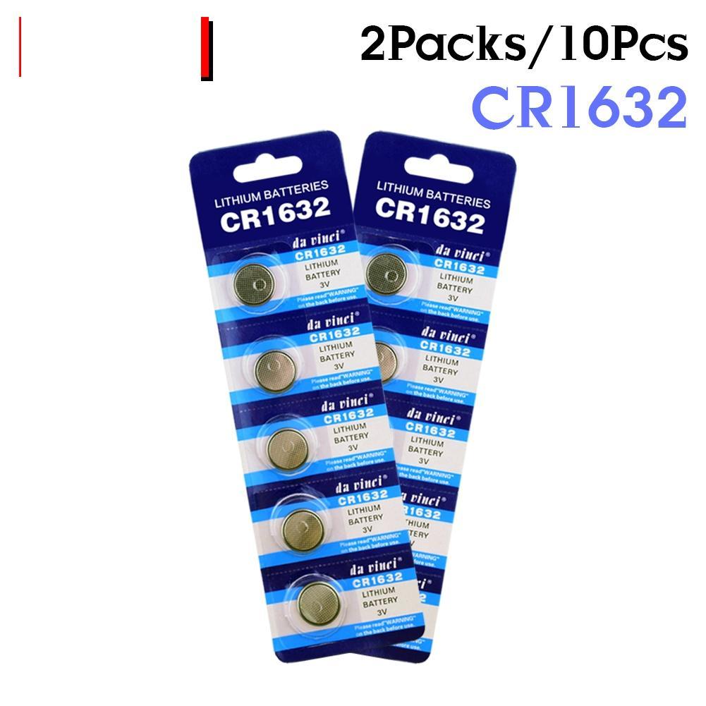 10 шт. CR1632 3V литий-ионная батарея 1632 BR1632 ECR1632 DL1632 KCR1632 LM1632 батарея для калькулятор игрушки