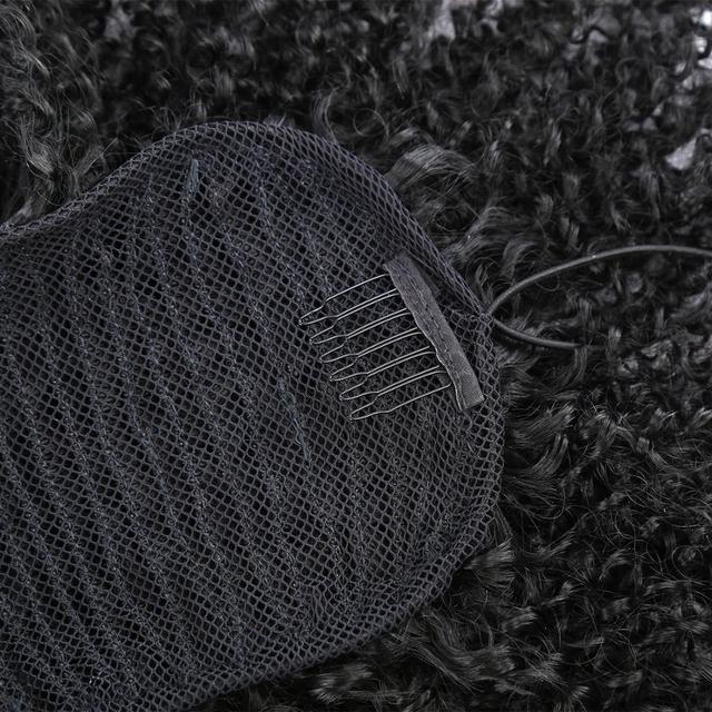 Женские кудрявые волосы на шнурке вьющиеся синтетические в стиле