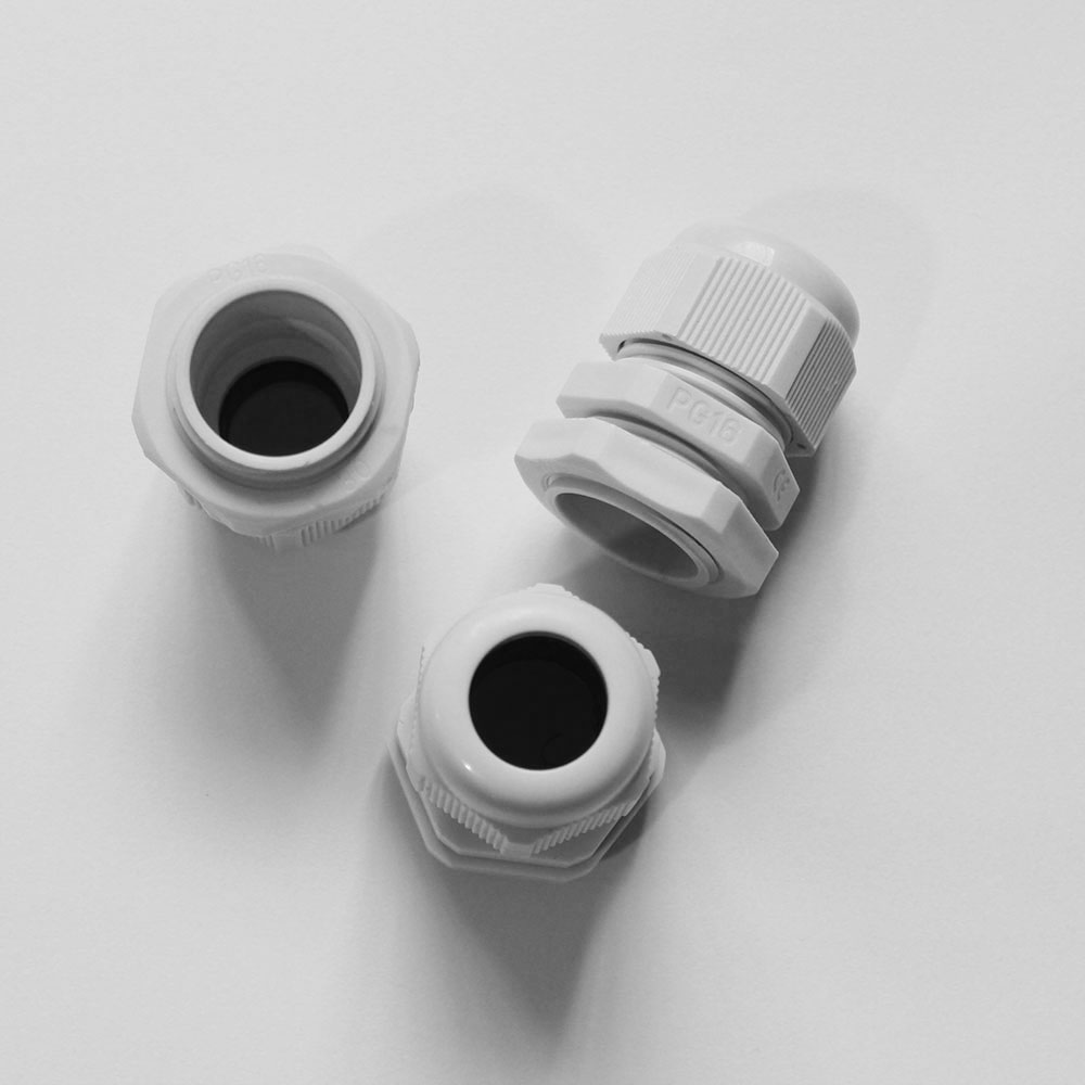 Waterproof Plastic Wire Connector PG7/PG9/PG11/PG13.5/PG16/PG19/PG21/PG25 Junction Box Cable Glands Connector Terminal