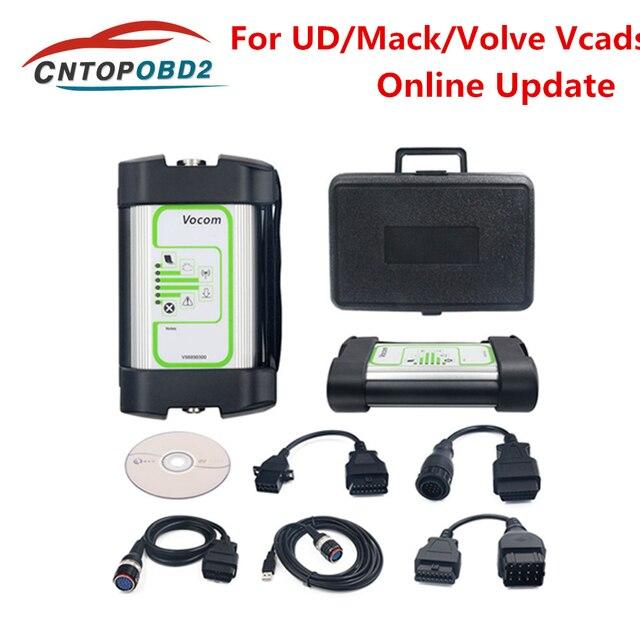 Mới Nhất V2.7.4 Phiên Bản Cho Volvo Vocom 88890300 Giao Diện Xe Tải Công Cụ Chẩn Đoán Cho UD/Mack/Định Vị Ô Vcads Online Cập Nhật DHL Miễn Phí