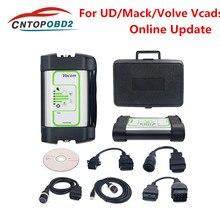 Herramienta de diagnóstico de camiones, Nueva Versión V2.7.4 para Volvo Vocom 88890300, interfaz para UD/Mack/Volvo Vcads, actualización en línea envío gratuito con DHL