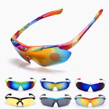 Cycling Glasses Men's Women's Sun Glasses Occhiali Gafas Ciclismo Circles Bike Bicycle Running