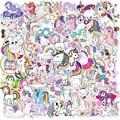 10/50/100Pcs Stickers for Unicorn Cartoon Animal Waterproof Cute Graffiti Sticker To DIY Luggage Notebook Laptop Guitar Decals