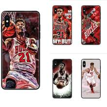 For Samsung Galaxy S5 S6 S7 S8 S9 S10 S10e S20 edge Lite Plus Ultra Soft Case Mobile Jimmy Butler(China)