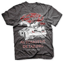Back To The Future - Biff'S Automotive Detailing Delorean T-Shirt Basic Models Tee Shirt(China)