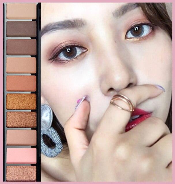 10 Colors Geometric Matte Eyeshadow Palette Glitter Mermaid Makeup Pallete Waterproof Long Lasting Eye Shadow Cosmetics TSLM1 1