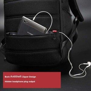 Image 4 - Kingsons USB Sạc Kinh Doanh Thời Trang Chống Thấm Nước 13/15/17 Máy Tính Xách Tay Ba Lô Dành Cho Nam Nữ Túi Laptop 13.3/15.6/17.3 Inch