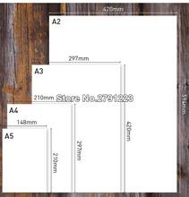 50pcs lot A3 A4 A5 White Kraft Paper DIY Card Making 120g 180g 230g 300g 400g Craft Paper Thick Paperboard Cardboard cheap TECHTONGTUO CN(Origin) 1-500 Sheets 100g 247619 Copy Paper