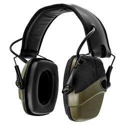 Táctica electrónica orejera para disparar Anti-ruido auriculares de sonido de amplificación de protección auditiva auricular plegable