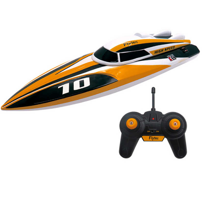 RC Boot High Speed RC Racing Boten 2.4G Waterscooters Elektrische Schip In Zwembaden Meren Rivieren 35 km/h Kinderen Strand speelgoed Kids Gift