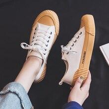 Zapatos de moda para mujer, zapatos de lona vulcanizados para mujer, nuevos zapatos de moda de tendencia plana, cómodos, zapatillas desodorantes, zapatillas de mujer