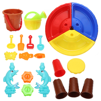 1 Set Sand & Water Table Sandpit Kids Indoor/Outdoor Beach Seaside Play Toy Table Summer Kids Toys Set 25pcs set kids colorful beach sand mold play set outdoor backyard sandpit toy interactive games