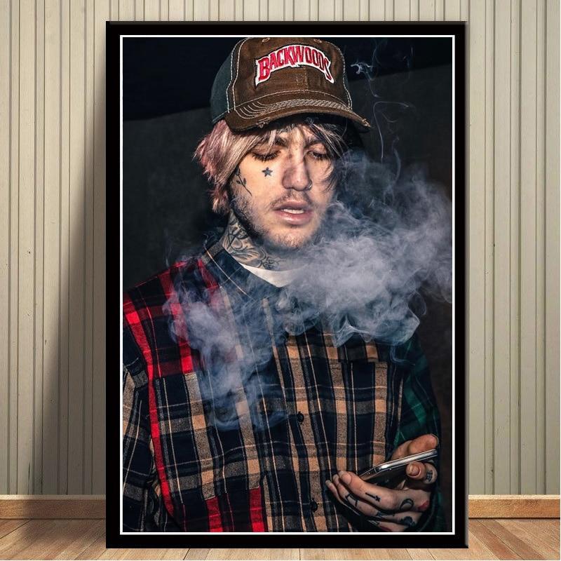 "Lil Peep poster wall art home decor photo print 24/"" x 36/"""