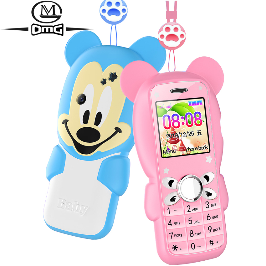 Super Mini Cute Children Student Mobile Phone Button Bluetooth Dual Sim Card SOS Do No Games GSM Unlock cellphone