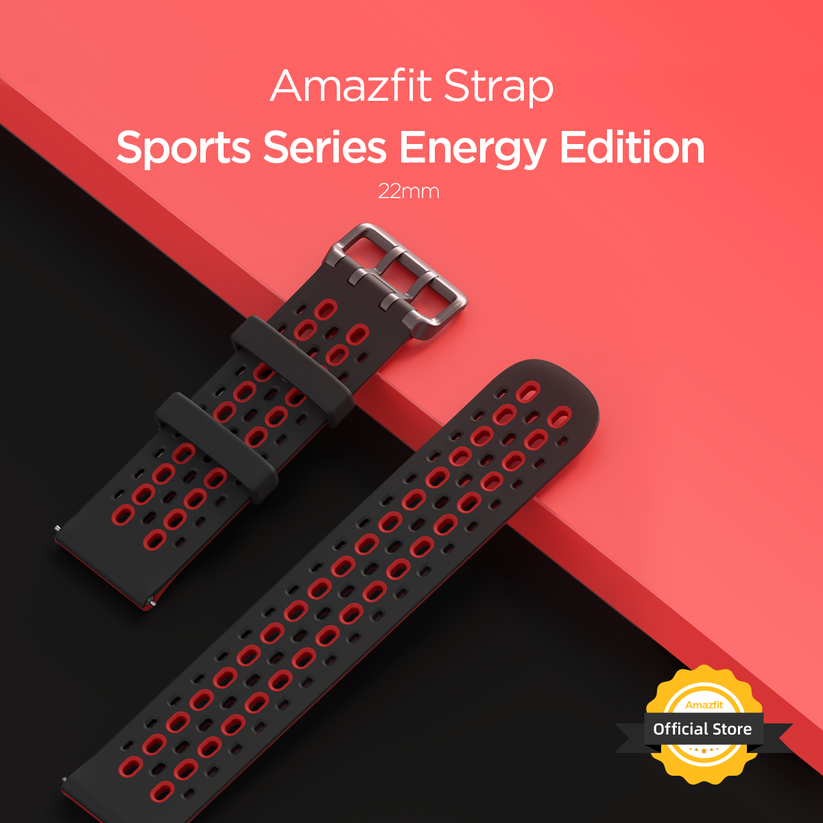 Amazfit Strap Sports Energy Edition 22mm Watch Straps For Smartwatch Smart Watch