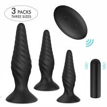 Butt Plug Anal Vibrator For Man Male Masturbator Remote Control Dildo Vibrator USB Rechargable 9 Modes Anal Sex Toys For Man Gay