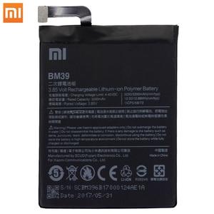 Image 2 - Xiao Mi Original Phone Battery BM39 For Xiaomi Mi 6 Mi6 3250mAh High Capacity Replacement Battery Free Tools Retail Package