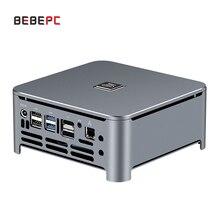 BEBEPC Mini PC 4K HTPC Desktop Computer Intel Core Gen 8th i5 8300H Win10 2*DDR4 NVME M.2 DP Type C WIFI TV Box