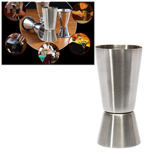 Двойной мерный стаканчик 25/50 мл шейкер мерная чашка Двойная съемка Напиток Дух измерения мерный стаканчик для Паб вечерние WineKitchen гаджеты