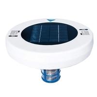 Gran oferta de ionizador Solar para piscinas, purificador de agua de cobre Ion de plata para piscinas, ionizador de algas para piscinas al aire libre