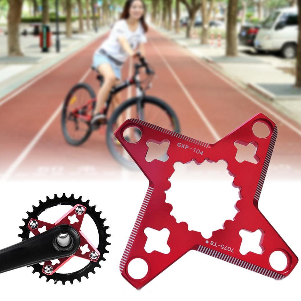 Для FOVNO MC-018 MTB горный велосипед Кривошип GXP к BCD 104 мм BCD Spider адаптер для SRAM GXP X1 X0 X01 XX1 Кривошип