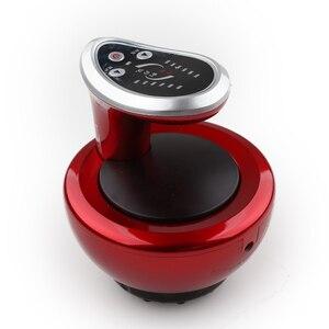 Image 3 - 電気カッピングマッサージ吸引真空マグネット治療guashaこするマッサージツボ刺激ボディ痩身