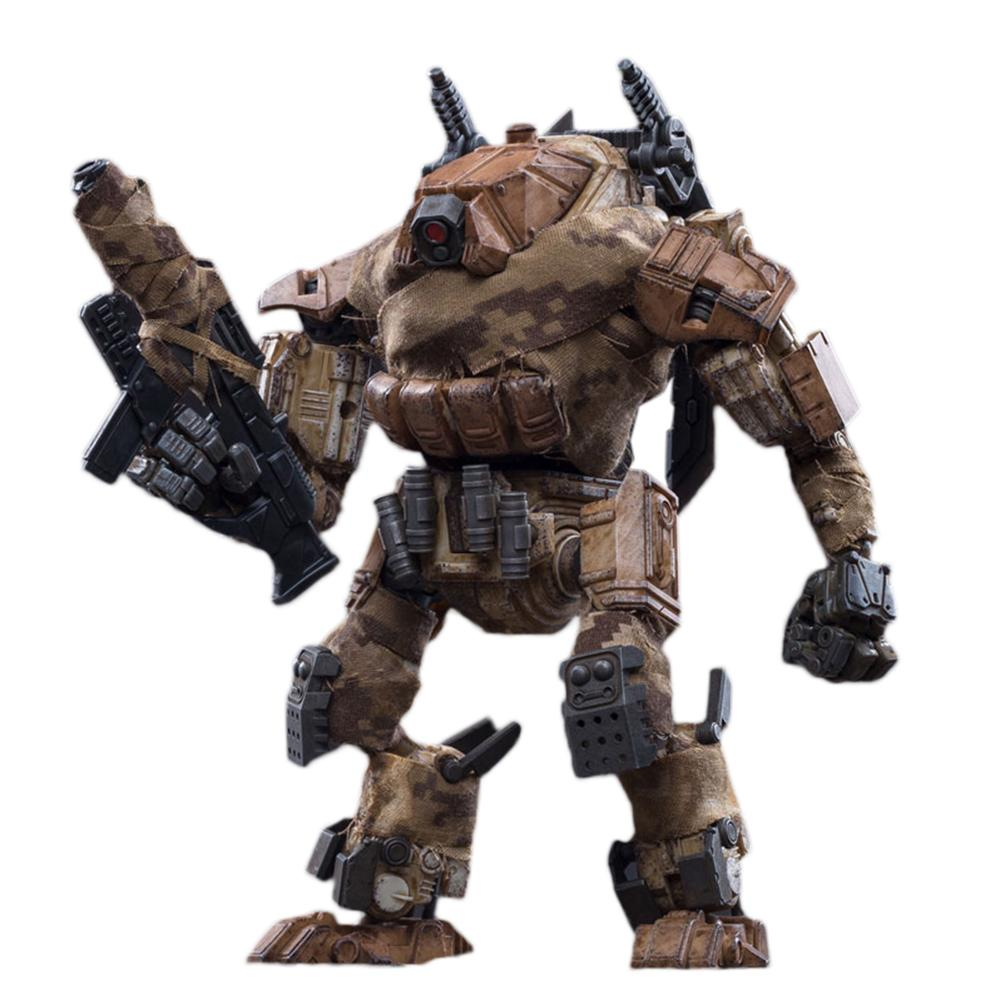 NEW JOYTOY 1/25 Action Figure Robot  Mecha Model With Fabric Cloth - Zeus Black/Tan ,Soldier Collection Model Toys