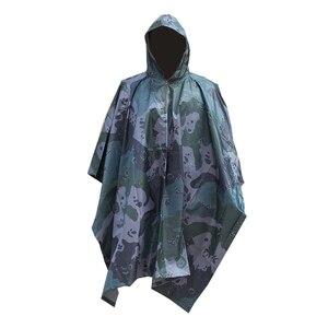 Непромокаемый плащ пончо, рюкзак, пальто, мужской, военный, непромокаемый, Дамский, непроницаемый, для мотоцикла, ПВХ, комбинезон, для одного ...