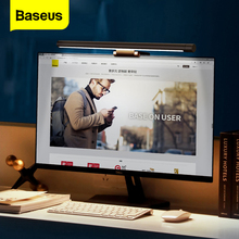 Baseus LED Desk Lamp Adjustable PC Computer Laptop Screen Ba